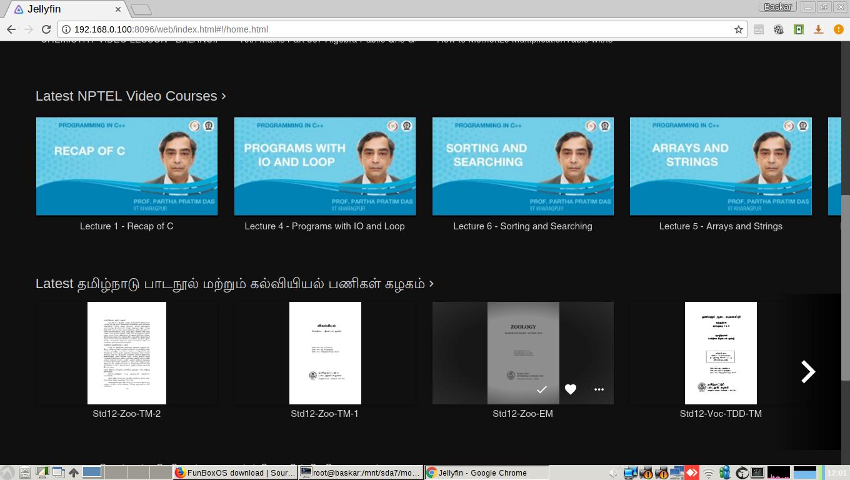 FunBoxOS - Screenshots